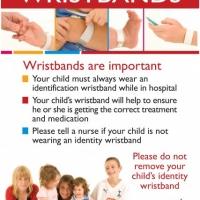 Patient wristbands